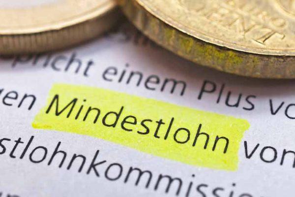 Kommission empfiehlt eine Erhöhung des Mindestlohns